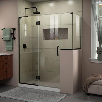 DreamLine Unidoor X Shower Enclosure 24HP 24D 12BP 30RP 09