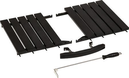 kamado joe classicjoe hdpe high density upgrade kit includes side shelves