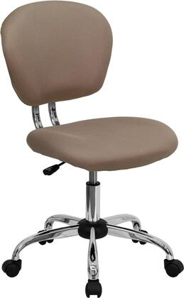 "Flash Furniture H2376FCOFGG 23.5"" Adjustable Contemporary Office Chair"