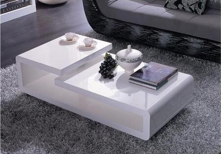 VIG Furniture VGZH5011C White Modern Table