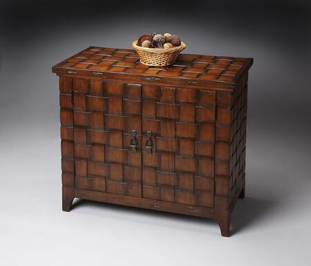 Butler 3064070 Heritage Series Gemelina hardwoods and maple veneers Cabinet