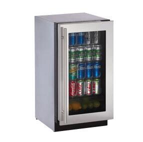 """U-Line 3018RGLS15 17.75"""" Wine Cooler"""