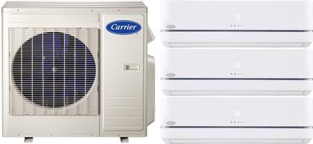 Carrier 700809 Performance Triple-Zone Mini Split Air Condit