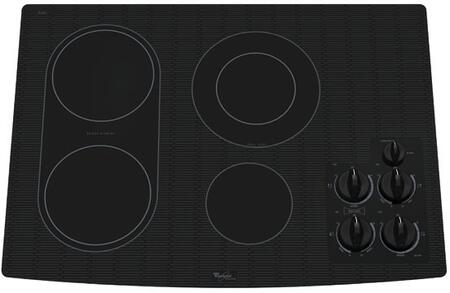 Whirlpool GJC3034RB Gold Series  Electric Cooktop, in Black