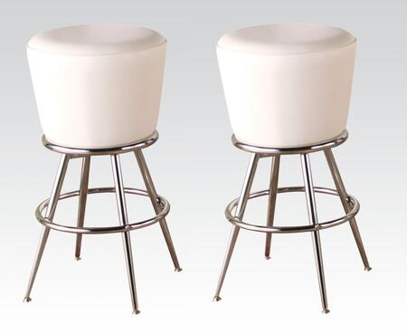Acme Furniture 70942 Tashara Series Residential Bycast Leather Upholstered Bar Stool