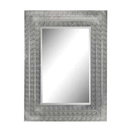 Sterling 172002 Pierced Metal Series Rectangle Portrait Wall Mirror