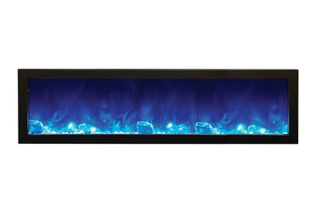 Amantii BI72DEEPOD Panorama Series Wall Mountable Electric Fireplace