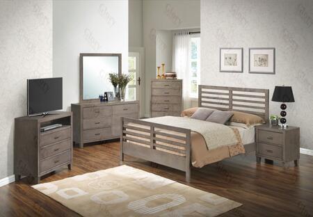 Glory Furniture G1205CQB2CHDMNTV G1205 Bedroom Sets