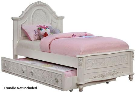 Furniture of America CM7193TBED Henrieta Series  Twin Size Bed