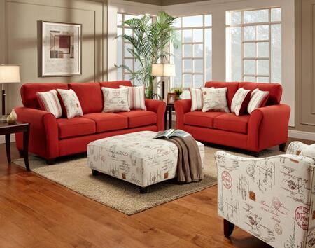Chelsea Home Furniture FS4800SLCO Jasper Living Room Sets