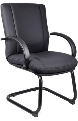 "Boss AELE40BBK 25.5"" Contemporary Office Chair"
