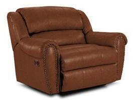 Lane Furniture 21414464021 Summerlin Series Transitional Fabric Wood Frame  Recliners