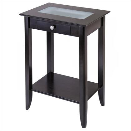 Winsome 92822 Syrah Series  End Table