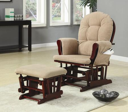 Coaster 650010 Casual Wood Frame  Recliners