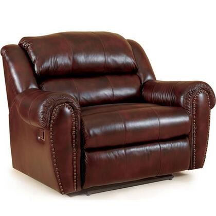 Lane Furniture 2141463516330 Summerlin Series Transitional Leather Wood Frame  Recliners