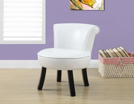 """Monarch I 815Y 22"""" Juvenile Chair with Curved Legs, Sturdy Construction and Fun Size"""