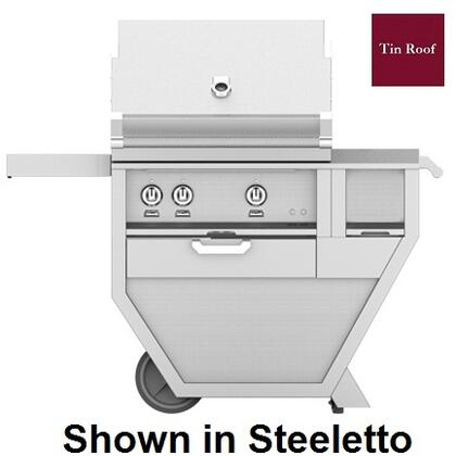 48 in. Deluxe Grill with Worktop   Tin Roof
