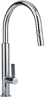 Franke FF27 Evos Series Pull-Down Spray Faucet in