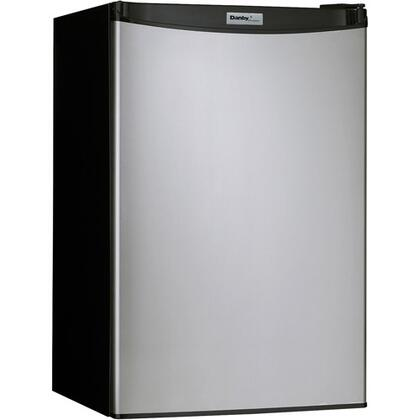 Danby DCR122BSLDD Designer Series Compact Refrigerator with 4.3 cu. ft. Capacity in Stainless Look