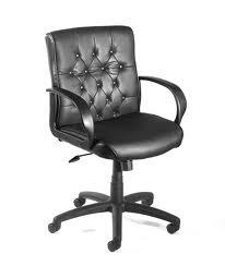 Boss B8506 Button Tufted Mid Back Executive Chair