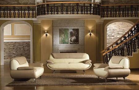VIG Furniture VGDM2812 Modern Leather Living Room Set