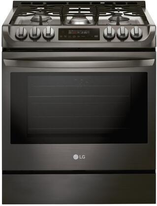 "LG LSG4511x 30"" Slide-In Range with ProBake Convection, SuperBoil Burner, EasyClean and UltraHeat, in"