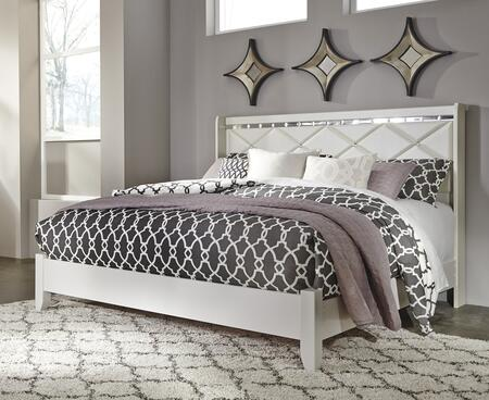 Milo Italia BR5214346 Strickland Series  Queen Size Panel Bed