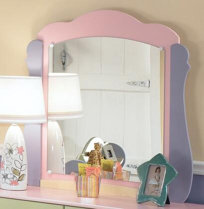 Signature Design by Ashley B14026 Doll House Series Childrens Arched Portrait Dresser Mirror