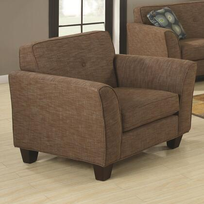 Coaster 504153 Lilian Series Fabric with Wood Frame in Brown