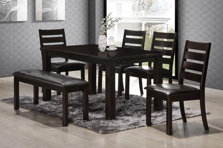 Simmons Upholstery 5010590102 Durango Dining Room Sets