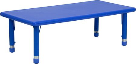 Flash Furniture YUYCX0012RECTTBLBLUEGG