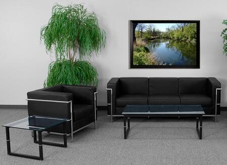 Flash Furniture ZBREGAL8103SCBKGG Hercules Regal Living Room