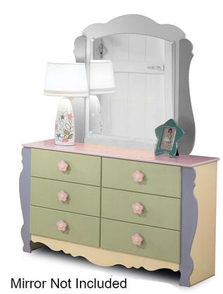 Signature Design by Ashley B14021 Doll House Series Childrens Wood Dresser