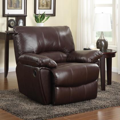 Coaster 600283 Clifford Series Casual Fabric Wood Frame  Recliners