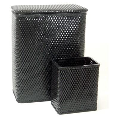 Redmon 4262X Chelsea Collection Hamper and Matching Wastebasket Set in
