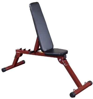 Picture of BFFID10 Best Fitness Flat  Incline  Decline Bench with Fold-Up Design and 4-Position