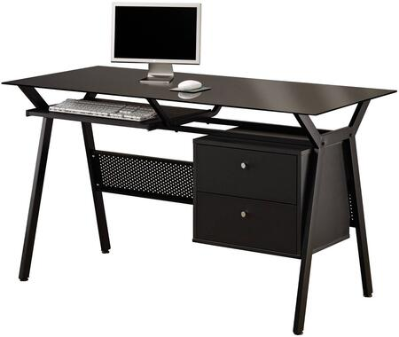 Coaster 800436 Traditional Bow Front Office Desk