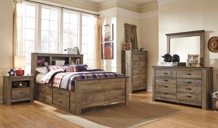 Signature Design by Ashley Trinell Bedroom Set B446FBDBDMN