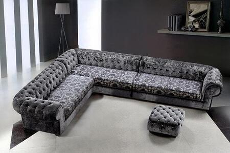 VIG Furniture VG2T0669  Sofa and Chaise Fabric Sofa