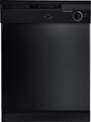"Frigidaire FBD2400KB 24"" Built In Full Console Dishwasher with 12 Place Settings Place Settingin Black"
