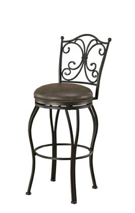 American Heritage 111102 Residential Bonded Leather Upholstered Bar Stool
