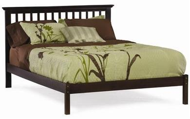 Atlantic Furniture SMISSIONOFTWINCL Mission Series  Twin Size Bed