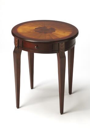 "Butler 0341XXX Masterpiece Collection 20"" Diameter Round Side Table:"