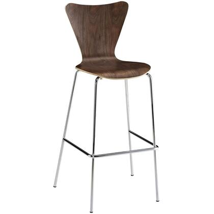 Modway EEI538WAL Ernie Series Residential Not Upholstered Bar Stool