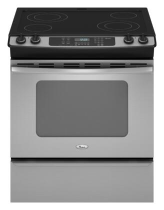 Whirlpool GY397LXUS Gold Series Slide-in Electric Range with Smoothtop Cooktop Storage 4.5 cu. ft. Primary Oven Capacity