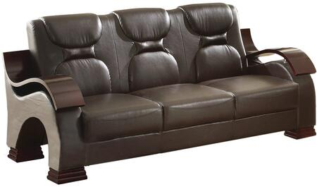 Glory Furniture G485S  Stationary Faux Leather Sofa