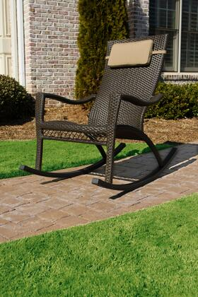 Tortuga TLRC  Aluminum Frame Rocking Patio Chair