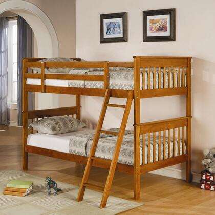 Coaster 460233 Parker Series  Twin Size Bunk Bed