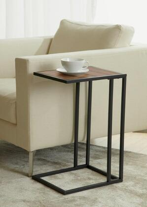 Unique Furniture 11215 Snack & Laptop Table in Walnut