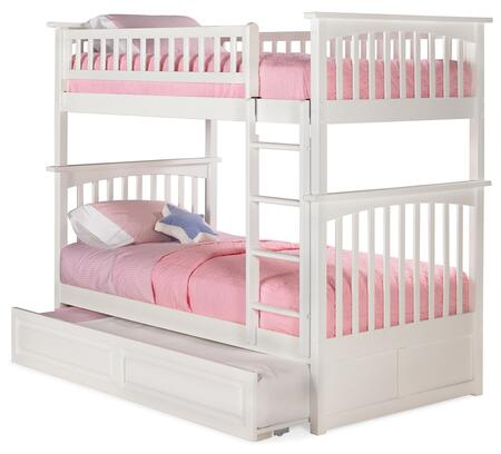 Atlantic Furniture AB55132  Twin Size Bunk Bed